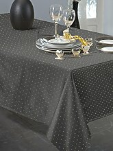 Calitex Basly Tischdecke rechteckig Polyester anthrazit 150x 350