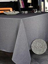 CALITEX Brom 3372360500894Tischdecke rechteckig Polyester Grau