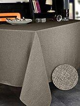 Calitex Brom 3372360505530Tischdecke rechteckig Polyester taupe