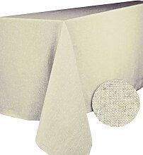 CALITEX Brom Tischdecke rechteckig Polyester Ecru