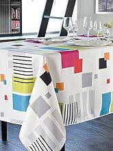 CALITEX cubcolor Tischdecke rechteckig Polyester Mehrfarbig 200x 150cm