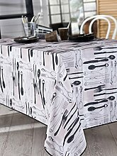 Calitex daignac Tischdecke rechteckig Polyester Beige 200x 150cm