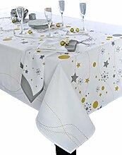 CALITEX Etoile Tischdecke rechteckig Polyester
