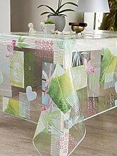 CALITEX Harmony Tischdecke Transparent rechteckig,