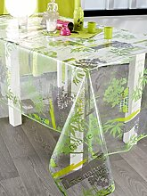 CALITEX Nature Bio Tischdecke Transparent