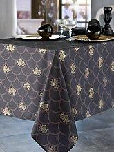Calitex segaya 3372360510121Tischdecke rechteckig Polyester schwarz