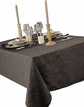 CALITEX Tischdecke aus Stoff, Ombra, Dunkelgrau,