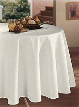 CALITEX Tischdecke Damassee Romy weiß (150x 300)