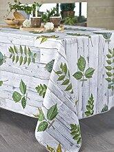 CALITEX Tischdecke, Pflanzenmotiv, rechteckig
