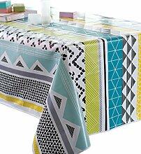 CALITEX Tischdecke, Wachstuch, rechteckig, PVC,