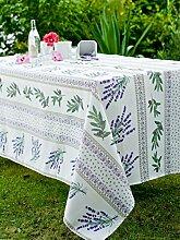 Calitex Visan Tischdecke rechteckig Polyester Mehrfarbig 150x 300cm