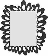CalleaDesign Ricciolo Wandspiegel schwarz