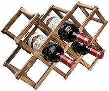 Callenbach Weinregal aus Holz, für 10 Flaschen,