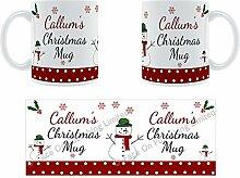 Callum'Weihnachten Becher, Tasse, Keramik,