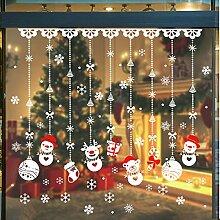 Calmare Weihnachten Wandaufkleber, 180pcs