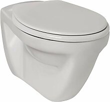 Calmwaters - Universal - Weißes Hänge-WC als