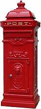 Camden Freistehender Briefkasten–rot