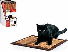 CamOn Teppich Kratzbaum Sisal mit Cat Nip Mint-Katze In gratis