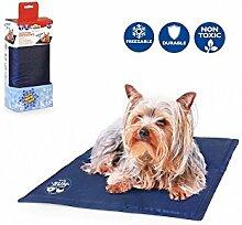 Camon Thermische Gel-Matratze für den Hund blau