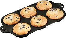 Camp Chef Cast Iron Muffin Topper Pan Muffinform Grill Gartengrill