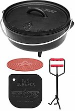 camp chef KS0331 Camp Chef Set: Classic Dutch Oven