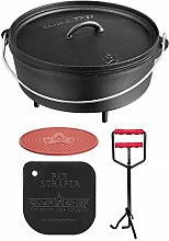 camp chef KS0332 Camp Chef Set: Classic Dutch Oven