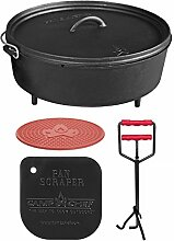 camp chef KS0333 Camp Chef Set: Classic Dutch Oven