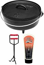 camp chef KS0334 Camp Chef Set: Classic Dutch Oven