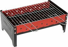 Camp Gear Holzkohle Grill 44x25x16 cm Edelstahl