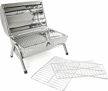 Camping Grill Holzkohle Tischgrill Kohlegrill