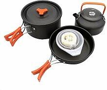 Camping Kochgeschirr Set Kochen im Freien