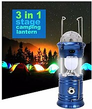 Camping LED-Licht 3 in 1 6W RGB LED Kristall