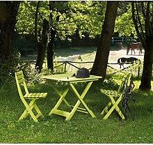 Camping Set Tevere, limegrün