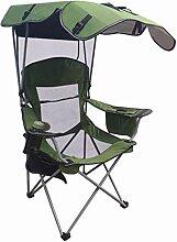Camping Stuhl Mit Schatten Für Erwachsene Schwere
