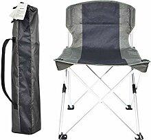 Camping-Stuhl, Tragbare Falten äRmellos Leicht