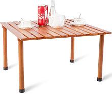 Camping-Tisch aufrollbar Gartentisch aus
