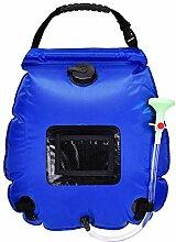 Campingdusche Solardusche Tasche 20 L / 5 Gallonen