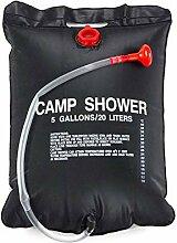 Campingdusche Solardusche Tasche, 20L Tragbare