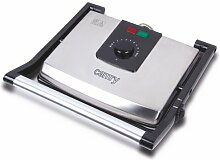 Camry cr6603–Grill, 2000W, silberfarben