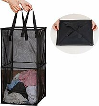 CAMSTIC Faltbarer Wäschekorb mit