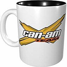 Can Am Team-Farbtasse, Porzellan, 330 ml, Keramik,