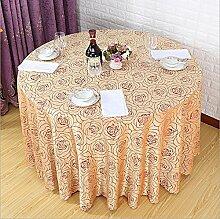 CANBUTIA Hotel Tischdecken Weiß Tischdecke
