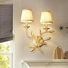 CANCUI Kupfer Blume Wandlampe, Schöne Modernen