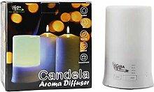 CANDELA - Ultraschall Aroma Diffusor und Luftbefeuchter