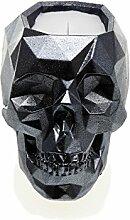 candellana Kerzen Beton skull-him, Stahl