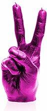 candellana Kerzen candellana-Peace Kerze, pink