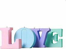 candellana Kerzen Love 4Buchstaben III