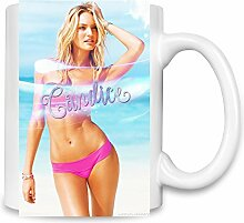 Candice Swanepoel Bikini Kaffee Becher