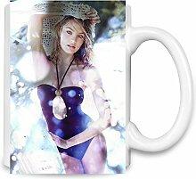 Candice Swanepoel Swimsuit Kaffee Becher