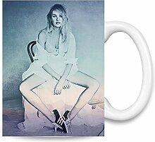 Candice Swanepoel Tempting Kaffee Becher